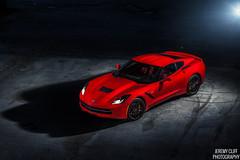2014 C7 Chevy Corvette Stingray (jeremycliff) Tags: red cliff chicago stingray jeremy corvette corvettestingray c7 jeremycliff jeremycliffcom c7corvette 2014c7chevycorvettestingray