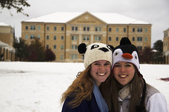 Smiles (goalkeeper07) Tags: christmas winter red snow tree puppy penguin panda university texas fort kisses christian pi bow worth alpha tcu conner gentry kayce pulliam catahoula aoii omicron denkhaus
