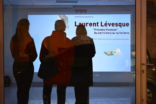 """Laurent Lévesque // Friendly Floatees // NOW HERE • <a style=""""font-size:0.8em;"""" href=""""http://www.flickr.com/photos/78418793@N05/11336434475/"""" target=""""_blank"""">View on Flickr</a>"""