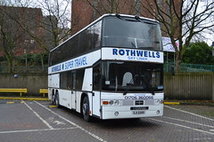 Rothwells Scania K112 SJI5589 - Stockport (dwb transport photos) Tags: bus jubilee stockport scania jonckheere decker rothwellssupertravel sji5589