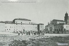 Gualtieri Emilia Piazza Bentivoglio fronte ponente 1900-1910