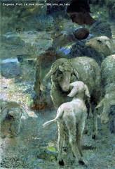 Eugenio Prati Le due madri 1906 olio su tela