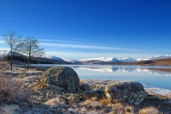 Loch Tulla Calm. (stonefaction) Tags: winter landscape scotland highlands frost loch moor faved rannoch tulla