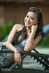 DSC06348 (inkid) Tags: portrait sexy girl rock pretty dof bokeh hard miss f28 swimwear laureen 70200mm