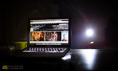 W O R K S P A C E      46pictorial (46pictorial) Tags: desktop camera light apple canon lens eos 50mm flickr f14 space working setup usm fullframe dslr 13 setting workspaces 6d macbook macbookpro 46pictorial