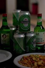 Christmas Celebration (Rickloh) Tags: beer heineken bokeh rick samsung korean drinks soju sg ricewine nx mirrorless beyondbokeh nx11 rickloh nxsg