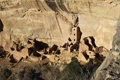 Ancient Anasazi dwelling in Mesa Verde (GOBLIN EMPIRE) Tags: nationalpark colorado pueblo indians
