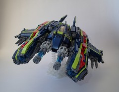 Firestorm Heavy Interceptor (Greeble_Scum) Tags: