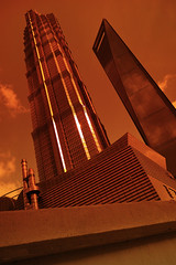 pudong shanghai () Tags: world building architecture shanghai sigma  pudong financial  foveon x3  tower shanghai    jinmaotower dp1m