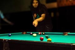 Roja 3 - Red 3 (celta4) Tags: men argentina table buenosaires cue bolas taco billiards mesa hombre billar bolls