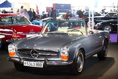 Mercedes-Benz SL Cabrio. De la década de los 60.