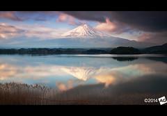 I t ' s N o t T o o L a t e (AnthonyGinmanPhotography) Tags: lake sunrise reflections volcano mtfuji kawaguchiko lakekawaguchi nd110 bwnd110 olympuse30