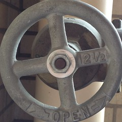 Open Counter-Clockwise (davidwenell) Tags: turn open pipes valve squaredcircle