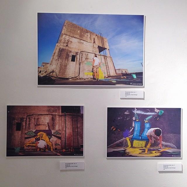 "Finochietto (Bs. As.) Street Art • Individual ""Amarillo""  de Mucho @theartofmucho en Bruno Gallery #arteenlima #artinlima #arte #art #mucho #streetart #graffiti #grafitti"
