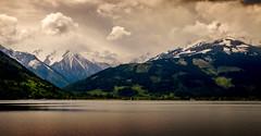 Zell Am See (Trev Bowling) Tags: cloud mountain water clouds austria nikon zellamsee nikond3200 d3200