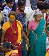 Celebration at the Temple - 08 (Rajesh_India) Tags: india festival traditional celebration hyderabad balkampet