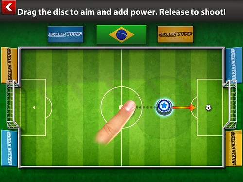 Soccer Stars Tutorial: screenshots, UI