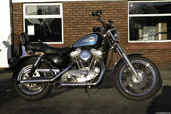 Harley Davidson Sportster (Betapix) Tags: 2002 west coast nikon motorcycles harley davidson 5700 southport