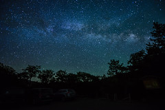 Milky Way as seen from Southern Oregon (acase1968) Tags: sky lake night way lens stars photography nikon awesome clear astrophotography nikkor milky ashland base f28 kamp emigrant d600 天の川 1424mm