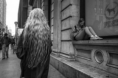 SoHo (Roy Savoy) Tags: bw streetphotography street blackandwhite city people new lady roysavoy nyc newyorkcity newyork blacknwhite streets streettog streetogs ricoh gr2 candid flickr explore candids photography streetphotographer 28mm nycstreetphotography gothamist tog mono monochrome flickriver snap digital monochromatic blancoynegro