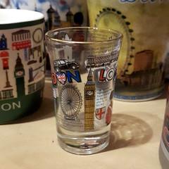 20160724_215912 Shot Glass from London (yaoifest) Tags: souvenirs shotglass