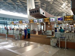 First and Business Class check-in (A. Wee) Tags: jakarta  indonesia  airport  cgk soekarnohatta terminal3