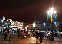 Fin de Semana Cidiano En Burgos (Lumiago) Tags: nocturna plazamayor burgos castillaylen espaa spain findesemanacidiano