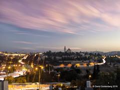 cloud stacking over old city of Jerusalem (dgoldenberg52) Tags: jerusalem israel urban citylife lights