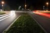 Kreisverkehr (bomme) Tags: auto kreisverkehr langebelichtung licht lichtspuren nacht rastatt strase verkehr straãe