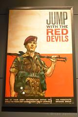 Parachute Regiment Recruitment Poster (Bri_J) Tags: iwmduxford cambridgeshire uk iwm duxford airmuseum museum aviationmuseum nikon d7200 imperialwarmuseum parachuteregiment recruitmentposter britisharmy