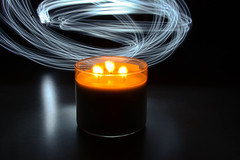 stoale_p3_s1 (samanthatoalephotography) Tags: abstract indoor candle black flame fire light painting lightpainting