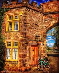 Brereton Arch. (deancolclough74) Tags: 1830s folly ramparts england archway arch golden cheshire sandbach raphabiden strava bikeride autumn breretonhalllodge
