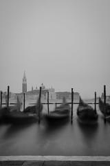 Fog (Marco Petretti) Tags: fog nebbia venezia venice gondole sea canal grande sangiorgiomaggiore black white bn longexposure long exposure