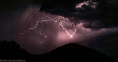 the power of nature (Robert Benatzky Picture) Tags: blitz lightning nacht night gewitter thunderstorm robertbenatzkypicture
