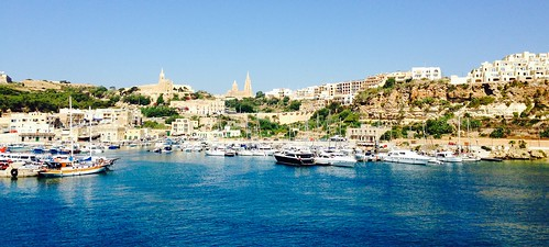 Port of Gozo.