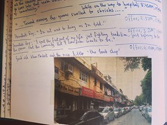 On the Sudden Reappearance of a Much-Loved Disappeared Landmark (Mayank Austen Soofi) Tags: delhi walla on sudden reappearance muchloved disappeared landmark the book shop delhis khan market has long receded history but this morning i was flipping through old 2004 journal came across newspaper photo muchmissed place had pasted clipping page diary saw this nowhere