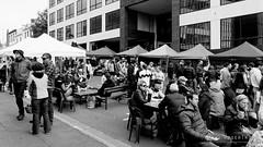 20161023-07-Tasmanian Farm Gate market randoms (Roger T Wong) Tags: 2016 australia bw hobart rogertwong sel2470z sony2470 sonya7ii sonyalpha7ii sonyfe2470mmf4zaosscarlzeissvariotessart sonyilce7m2 tasmania tasmanianfarmgate blackandwhite market mono monochrome people stalls
