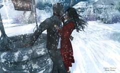 Snapshot_winter_love (jeffresident) Tags: brayce jeff jeffferie winter red snow belleza catwa lips black shadow light mesh love redlips beauty coat freya wewanttobefree coffeetime