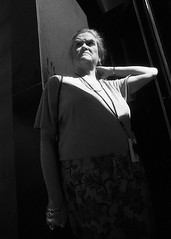 New York Austere (Brian Gilbreath) Tags: ifttt 500px street photography city urban travel new york light shadow shadows streets people life streetphotography photoraphy portrait black white blackandwhite 35mm film candid bw nyc newyorkcity woman