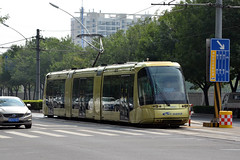TEDA Modern Guided Rail Tram 005 (Howard_Pulling) Tags: tianjin tram trams strassenbahn china chinese howardpulling