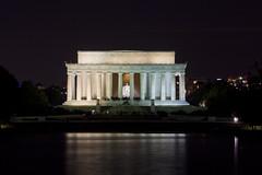 Lincoln Memorial @ Night  (4) (smata2) Tags: lincolnmemorial washingtondc dc nationscapital canon monument memorial postcard