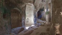 DSCF0037 glise monolithe d'Aubeterre-sur-Dronne (Charente) (Thomas The Baguette) Tags: aubeterresurdronne charente france monolith cave church tympanum glise glisenotredame saintjacques caminodesantiago sexyguy chateau cloister minimes mithra mithras cult