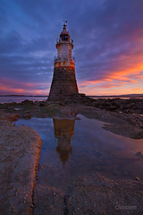 Plover Scar Lighthouse (info@simonboothphotography.com) Tags: spaspeialprotectionarea sssi siteofspecialscientiificint wyre beacon cloudy dawn daybreak estuary firey glow land landform landscape landscapes light lighthouse lightouse natural orange picture picturesque point red safe safety salty scene scenery scenes scenic scenics sea stone sunrise tidal tide tourism tradionalmorecambebay view vista water watery siteofspecialscientiificinterest