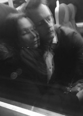 Have I Told You Lately/Night Ride (sjpowermac) Tags: mkiv mk4 york passengers sleeping nightride railway carriage train reflection window night journey lovers holdinghands hands romantic 91125 class91