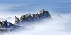 Sea of love (pauldunn52) Tags: long exposure rocks beach sea blue mist cornwall widemouth bay canon eos d europe