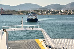 TIMONE A SINISTRA   DSC_2818 (Chris Maroulakis) Tags: salamina island ferry timone sea nikon d7000 chris maroulakis 2016