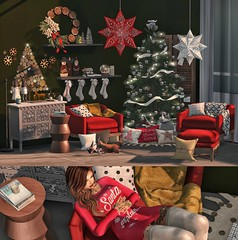 #383 It's Time for The Holidays... (   Bonnii Hendes    Blogger    Decorator) Tags: mudhoney mon cheri the arcade 2016 december apple fall af tres blah aria