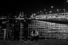 They say the lights are always bright on... / the life we live (Özgür Gürgey) Tags: 2016 35mm bw d750 darkcity genesis karaköy nikon samyang architecture candid evening lights lowlight street istanbul turkey