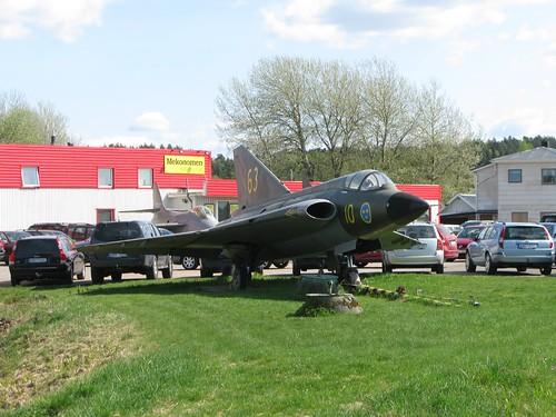 Draken J 35B - 73 från 1962-1963, Kareby Bil, Kareby, 2011