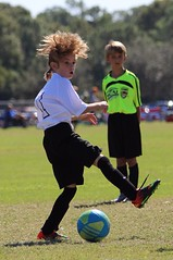 Comb? (jmaxtours) Tags: soccer hair wildhair soccerplayer florida usa futbol
